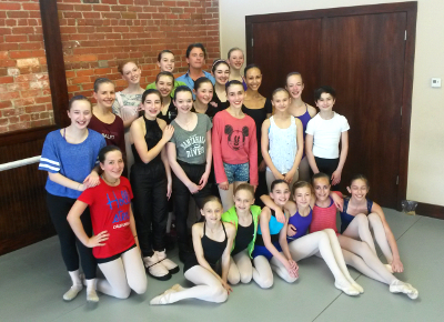 Ballet Conservatory Of Asheville Billy Ward Teaches April 2014