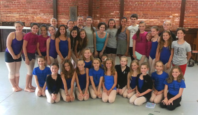 Courtney Elizabeth Stewart Ballet Conservatory of Asheville