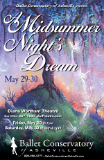 Ballet Conservatory of Asheville -- A Midsummer Night's Dream
